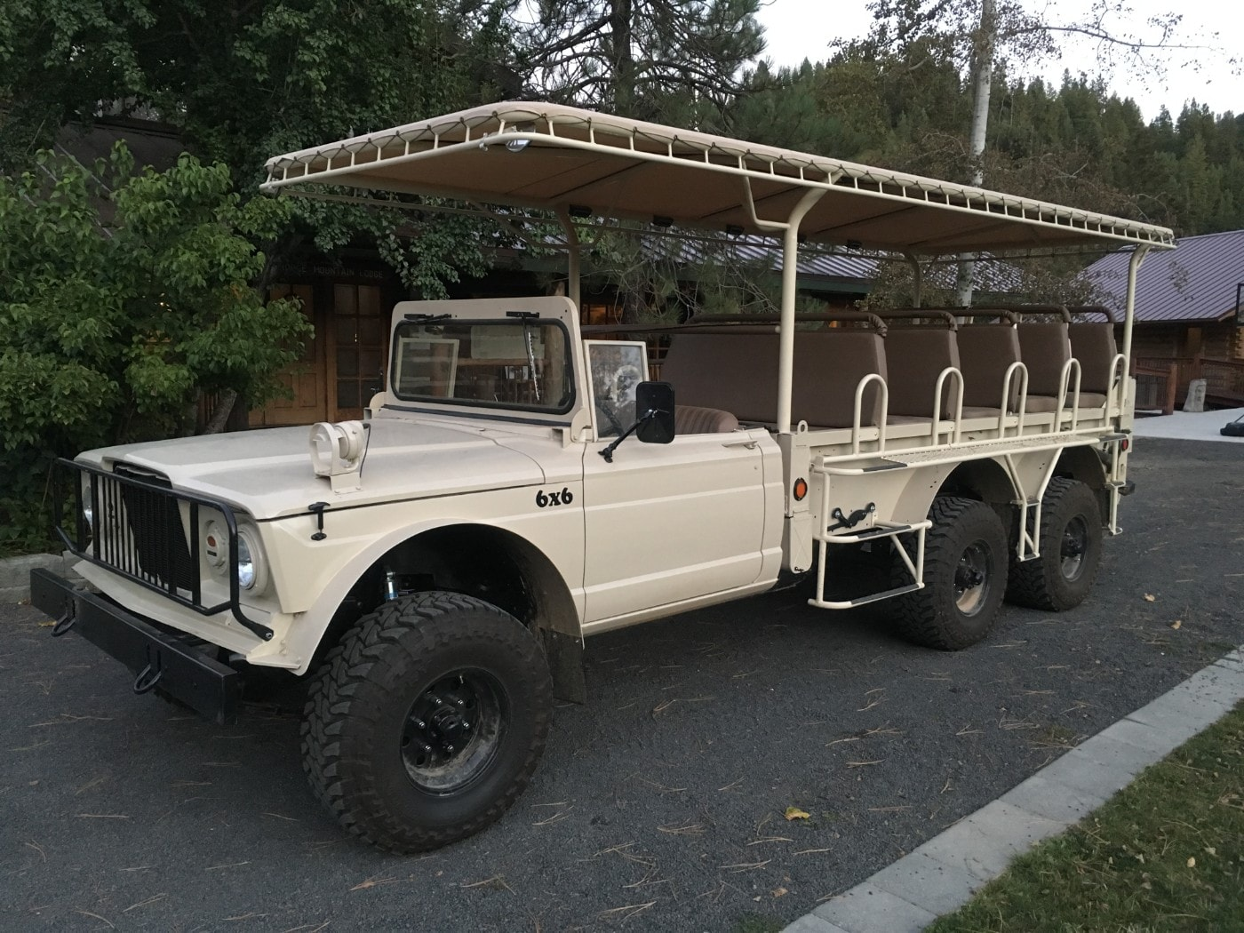 6x6 Jeep for Guests at Red Horse Mountain Ranch in Idaho