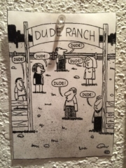 Dude Ranch Cartoon
