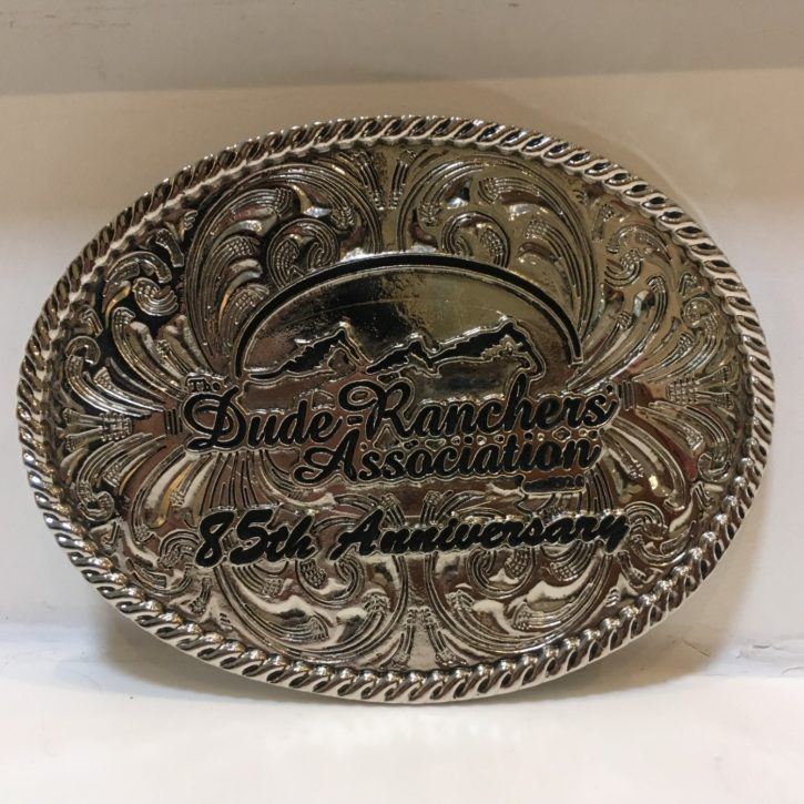 Dude Ranchers' Association belt buckle