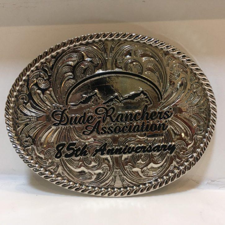 Dude Ranchers' Association belt buckle