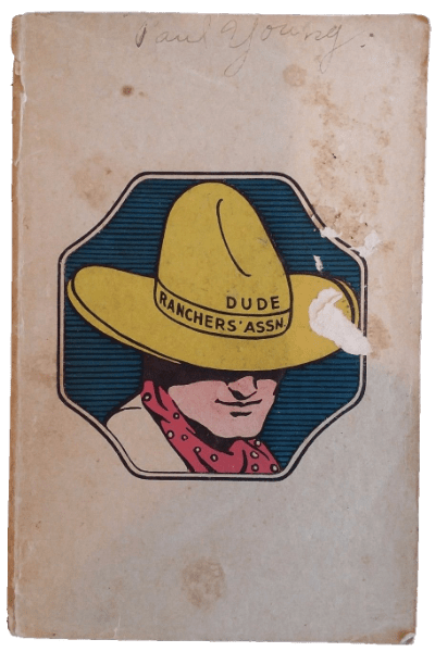 Dude Ranchers' Associations Vintage Minutes from Conference