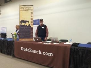 Dude Ranch Partnership Booth - CDGRA