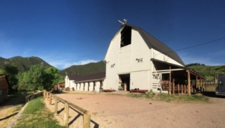 Eatons Ranch Barn - Wyoming
