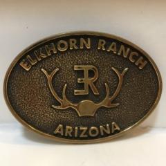 Elkhorn Ranch Arizona Belt Buckle
