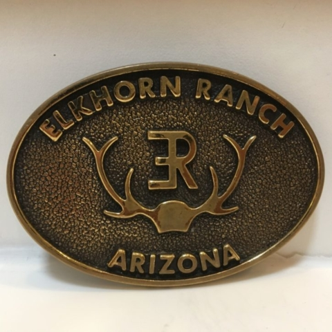 Elkhorn Ranch Arizona Belt Buckle