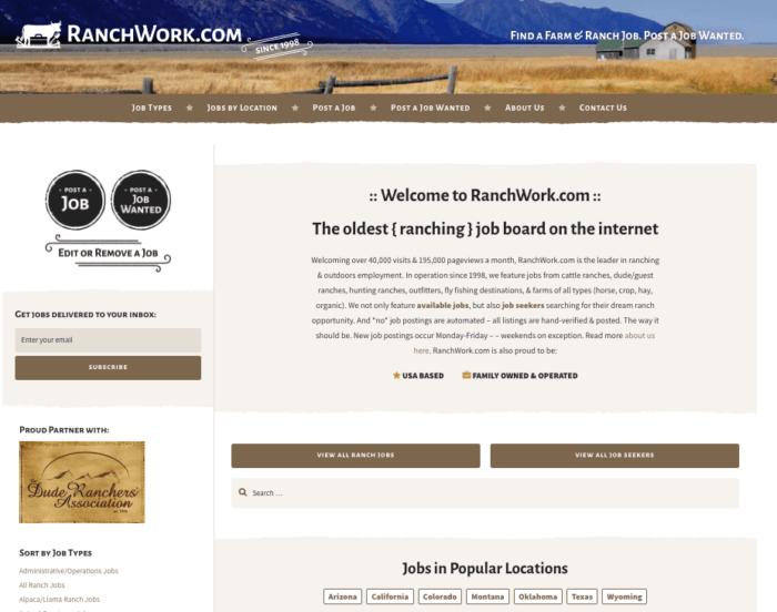 New RanchWork.com